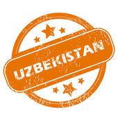 Uzbekistan grunge icon — Stock Vector