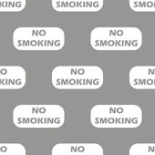 No smoking seamless pattern — Stock Vector