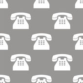 Telephone seamless pattern — Wektor stockowy