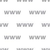 Yeni Www seamless modeli — Stok Vektör