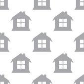 Nový dům bezešvé vzor — Stock vektor