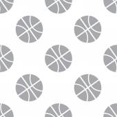 New Basketball seamless pattern — Stockvektor
