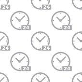 New Clock seamless pattern — Stock Vector