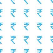 Unique Rupee seamless pattern — Stock Vector