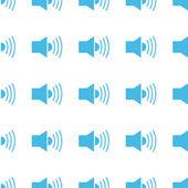 Unique Speaker seamless pattern — Stock Vector