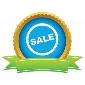 Gold sale logo — Stock Vector