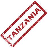 Yeni Tanzanya damgası — Stok Vektör