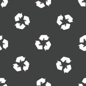 Recycling sign pattern — ストックベクタ