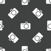 Camera patroon — Stockvector