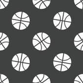Basketball pattern — Stock Vector