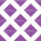 Violet turned square pattern — Cтоковый вектор