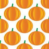 Pumpkin pattern — Stock Vector
