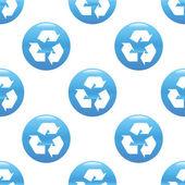 Recycling sign pattern — Vetor de Stock