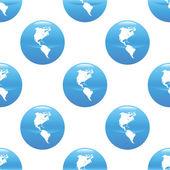 Globe sign pattern — Stock Vector