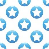Star sign pattern — Stock Vector