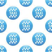 Taksi işareti desen — Stok Vektör
