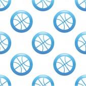 Basketball sign pattern — Stock Vector