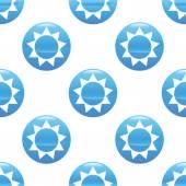 Sun sign pattern — Stock Vector