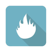 Flame icon — Stock Vector