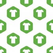 T シャツのパターン — ストックベクタ