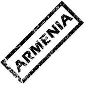 ARMENIA rubber stamp — Stock Vector