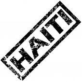 HAITI rubber stamp — Stock Vector