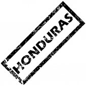 HONDURAS rubber stamp — Stock Vector