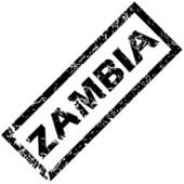 ZAMBIA rubber stamp — Stock Vector