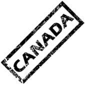 Canada Rubberstempel — Stockvector