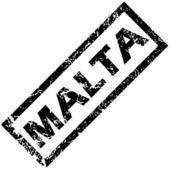 MALTA rubber stamp — Stock Vector