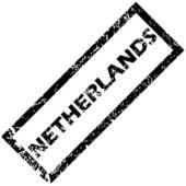 печать нидерландов — Cтоковый вектор