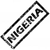 NIGERIA stamp — Stock Vector