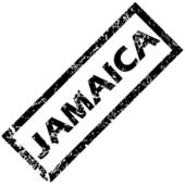 JAMAICA stamp — Stock Vector
