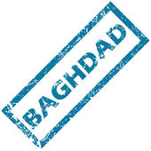 Baghdad rubber stamp — Stock Vector