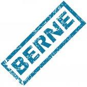Berne rubber stamp — Stock Vector