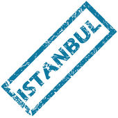Istanbul rubber stamp — Stock Vector