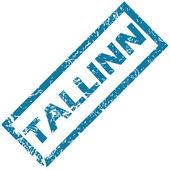 Tallinn rubber stamp — Stock Vector