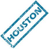 Houston rubber stamp — Stock Vector