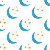 Colored night symbol pattern — 图库矢量图片