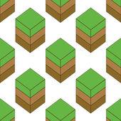 Empty ground pattern — Stock Vector