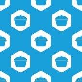 Pan hexagon pattern — Stock Vector