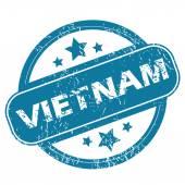 Vietnam rotondo timbro — Vettoriale Stock