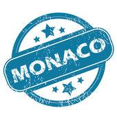 MONACO round stamp — Stock Vector