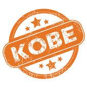 Kobe round stamp — Stock Vector
