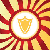 Shield abstract icon — 图库矢量图片