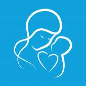 Mothercare icon — Stock Vector