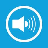 Loudspeaker sign icon — Stock Vector