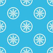 Winter sign blue pattern — Stock Vector