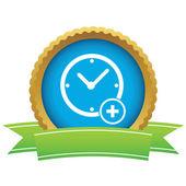 Add time certificate icon — Vector de stock
