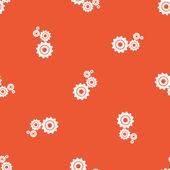 Padrão de configurações de laranja — Vetor de Stock